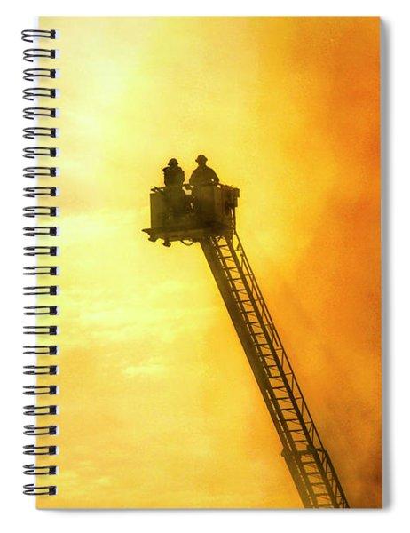 Smokey Blaze Spiral Notebook