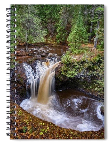 Snake Pit Falls Spiral Notebook