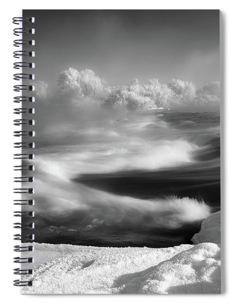 Snake River Winter Spiral Notebook