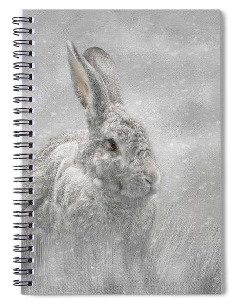 Snow Bunny Spiral Notebook