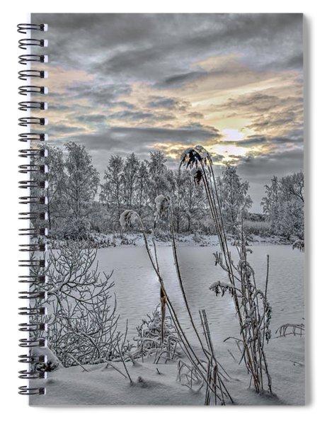 Snow #i3 Spiral Notebook
