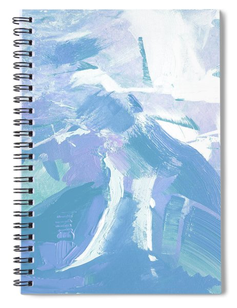 Snow Spiral Notebook