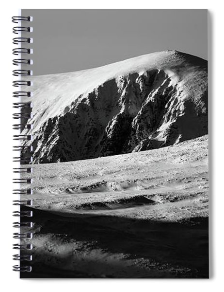 Snow On Cairngorm Spiral Notebook
