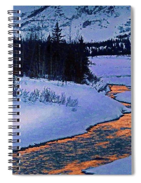 Snow River Spiral Notebook