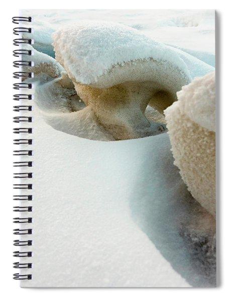 Snow Sculpture  Spiral Notebook