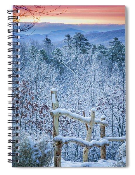 Snow Trail Spiral Notebook