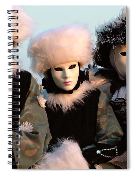 Snowbirds With Hand Warmers Spiral Notebook