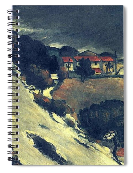 Snowmelt In L Estaque 1870 Spiral Notebook