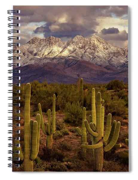 Snowy Dreams Spiral Notebook