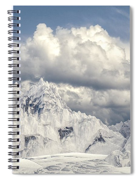 Snowy Mountain 002 Spiral Notebook