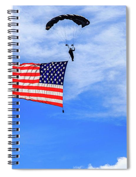 Socom Flag Jump Spiral Notebook