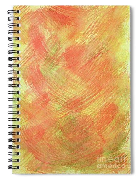 Soft Orange Colors 2 Spiral Notebook