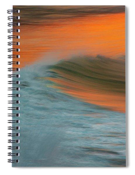 Soft Wave Spiral Notebook