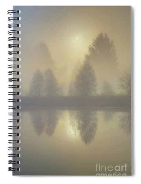 Softly Comes The Sun Spiral Notebook