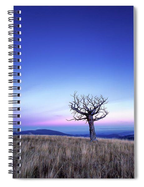 Solace And Grace Spiral Notebook
