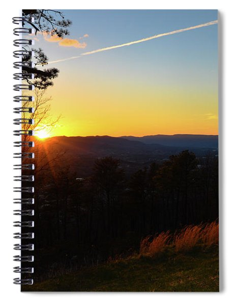Solace And Pine Spiral Notebook