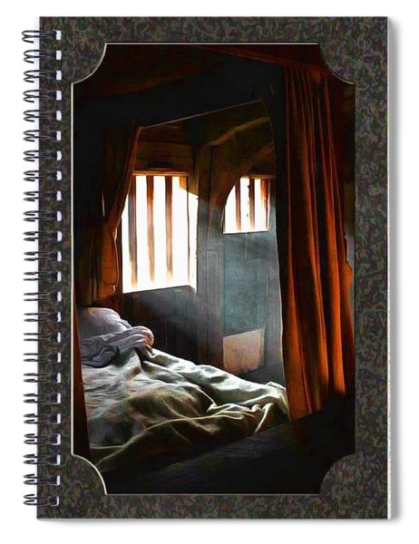 Solitary Confines Spiral Notebook