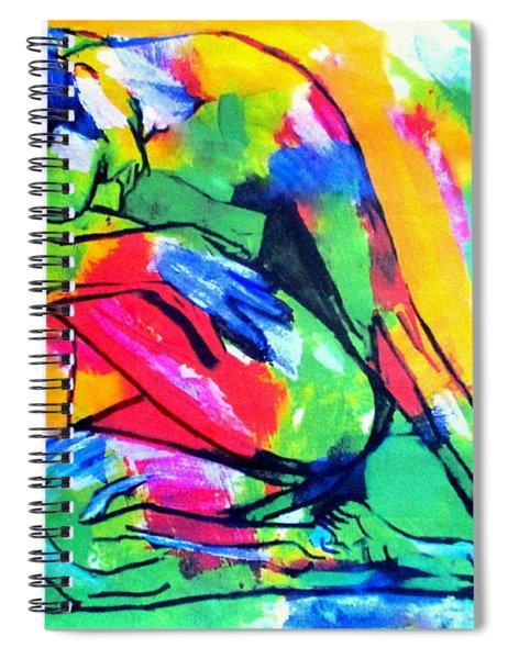 Solitary Man Spiral Notebook