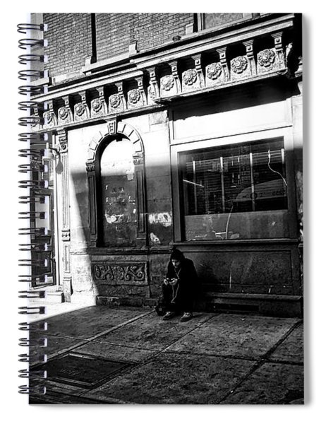 Solitary Man Spiral Notebook