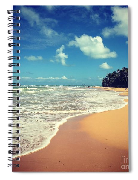 Solitude Beach Spiral Notebook