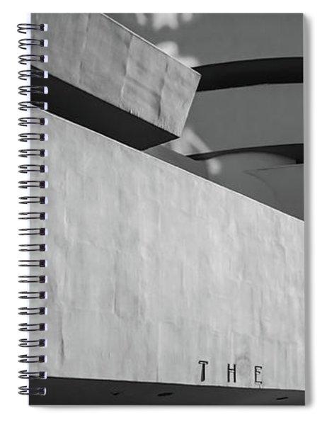 Solomon R Guggenheim Museum Spiral Notebook