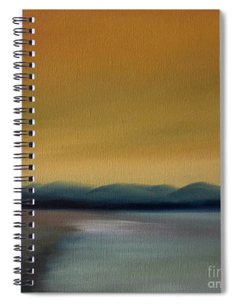 Somber Day Spiral Notebook