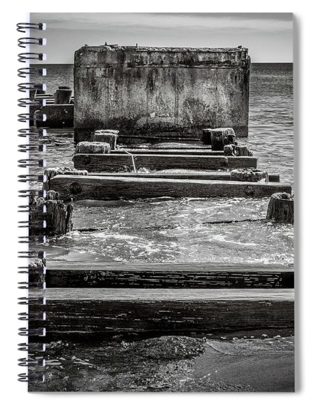 Something In The Water Spiral Notebook