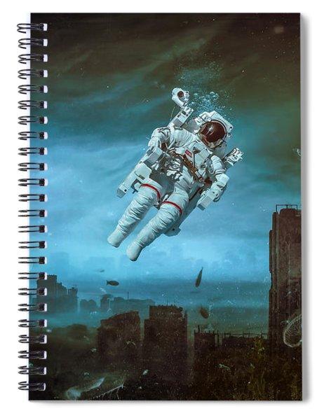 Sometimes Spiral Notebook