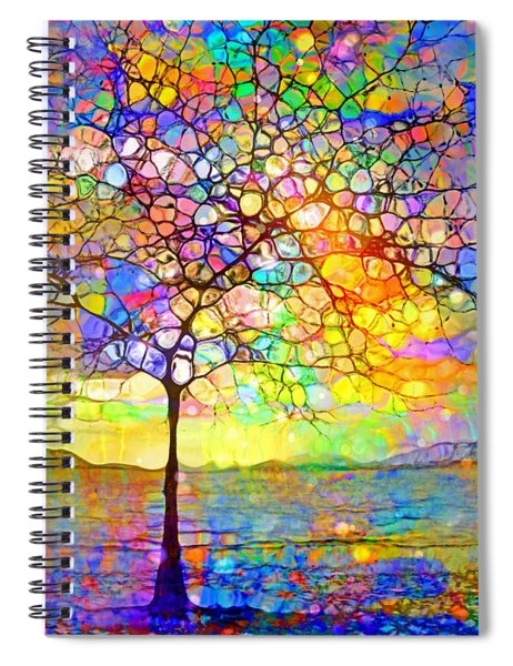 Sometimes We All Need A Little Colour Spiral Notebook