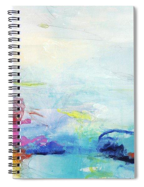 Somewhere Else Spiral Notebook