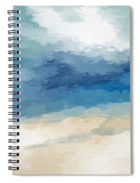 Soothing Memory- Art By Linda Woods Spiral Notebook