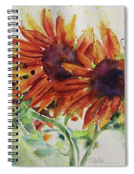 Soulflowers Spiral Notebook
