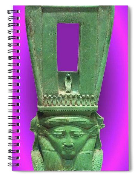 Sound Machine Of The Goddess Spiral Notebook