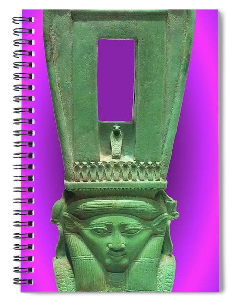 Sound Machine Of The Goddess Spiral Notebook