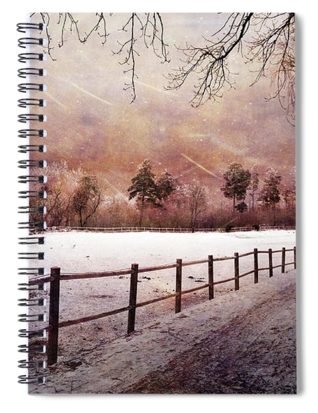 Sounds In The Paddock Spiral Notebook