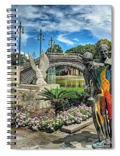 Sounds Of Nola Spiral Notebook