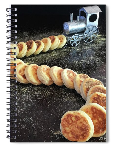 Sourdough English Muffins Spiral Notebook