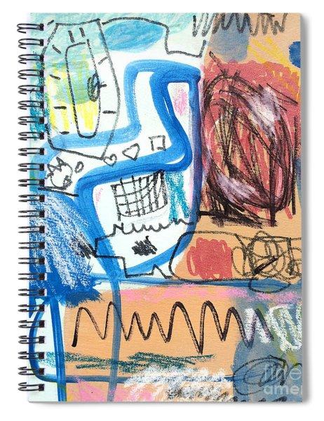 Sourire Spiral Notebook