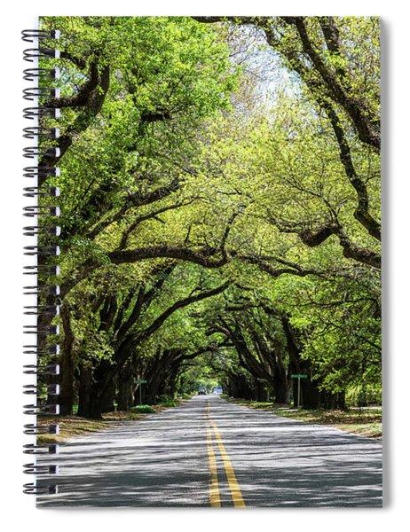 South Boundary Ave Aiken Sc Spiral Notebook