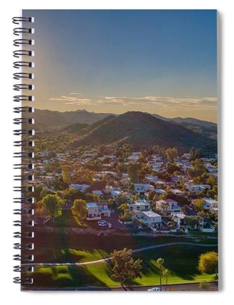 South Mountain Sunset Spiral Notebook
