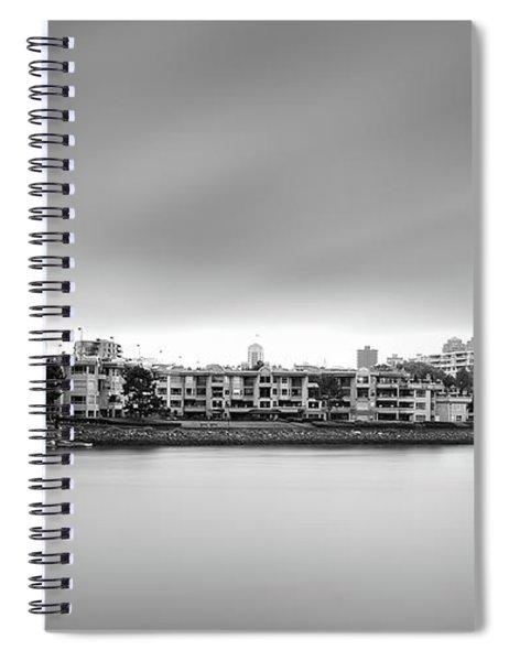Venice Court, Vancouver Bc, Canada Spiral Notebook
