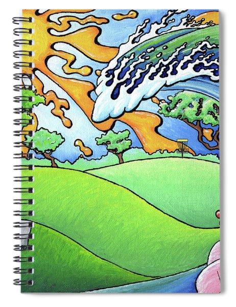 South Texas Disc Golf Spiral Notebook