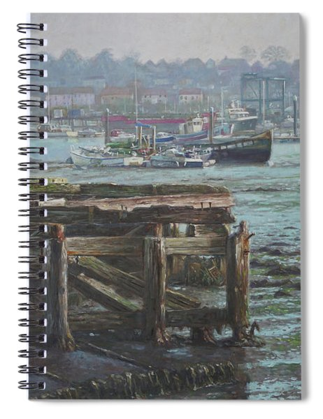 Southampton Northam Summer Evening Across The Itchen Spiral Notebook
