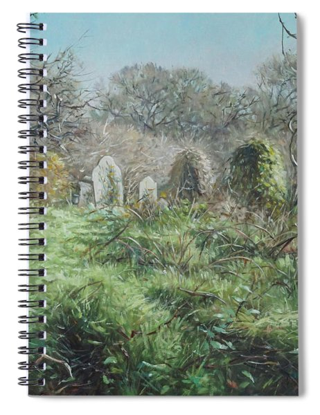 Southampton Old Cemetery In Autumn Spiral Notebook
