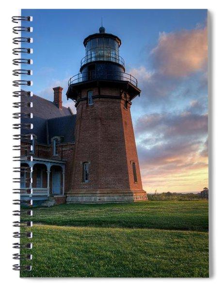 Southeast Light Sunrise Spiral Notebook