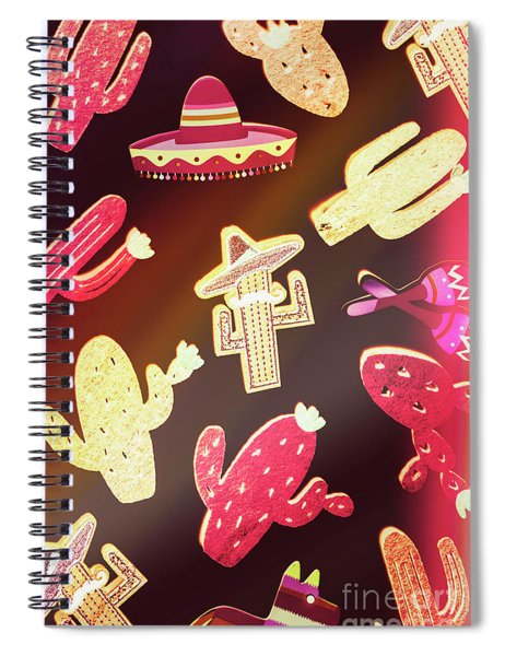 Southern Flavors  Spiral Notebook
