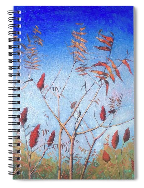 Southern Sumac Spiral Notebook