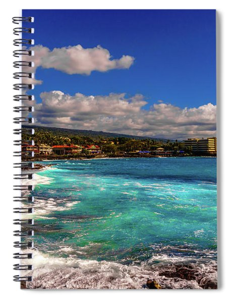 Southern View Of The Shore Spiral Notebook