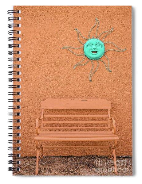 Southwestern Bench  Spiral Notebook