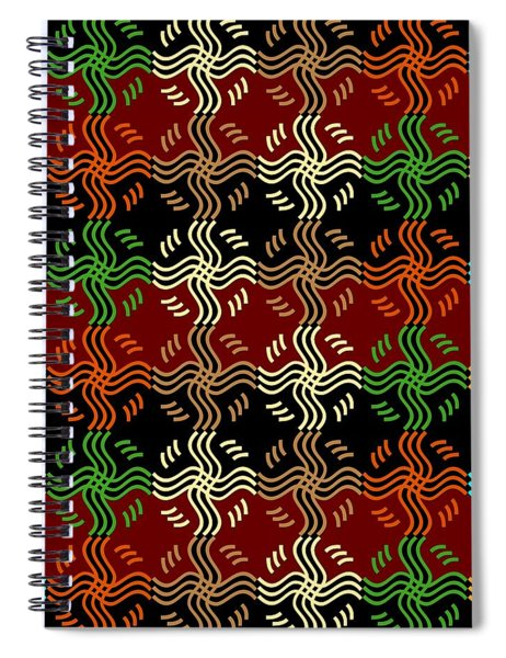 Southwestern Sun Tile Spiral Notebook